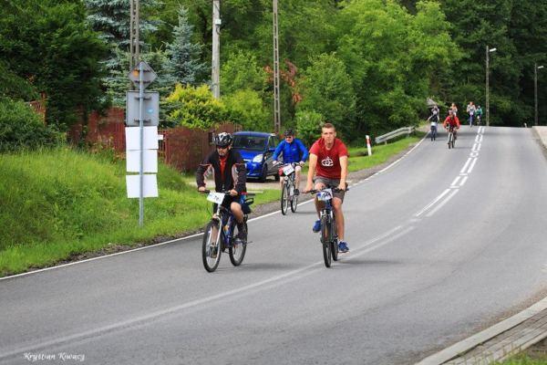 I Rodzinny Rajd Rowerowy w Gorlicach, fot. Krystian Kiwacz