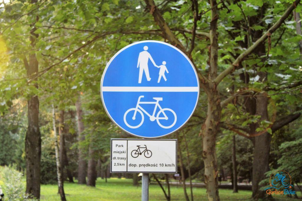 Na rowerze po nowo-starym Parku w Gorlicach