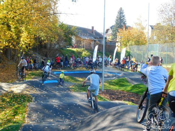 I Zawody w jeździe rowerowej na torze PUMPTRACK w Gorlicach