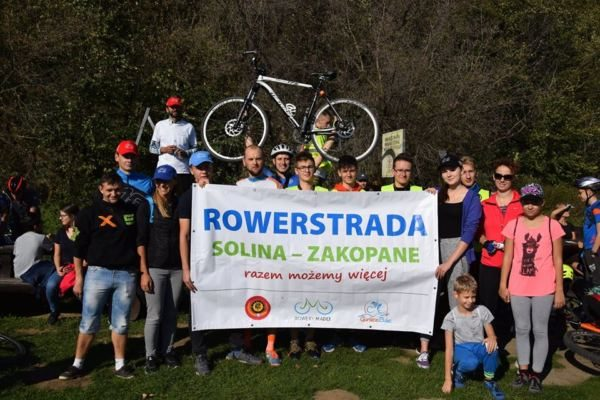 Rajdy rowerowe w 2019r., podczas których zbieraliśmy podpisy poparcia – Gorlice, Grybów, Rzeszów