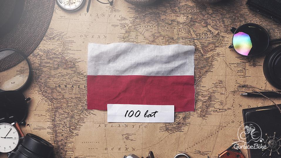 Rowerowy Rajd 100 km na 100 lat Niepodległości – na trasie