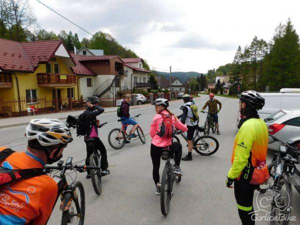 Trasy rowerowe MTB Krynica-Zdrój – MIECZYSŁAW (brązowa)