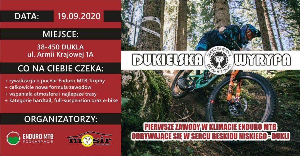 Dukielska Wyrypa 2020 – Enduro MTB Trophy