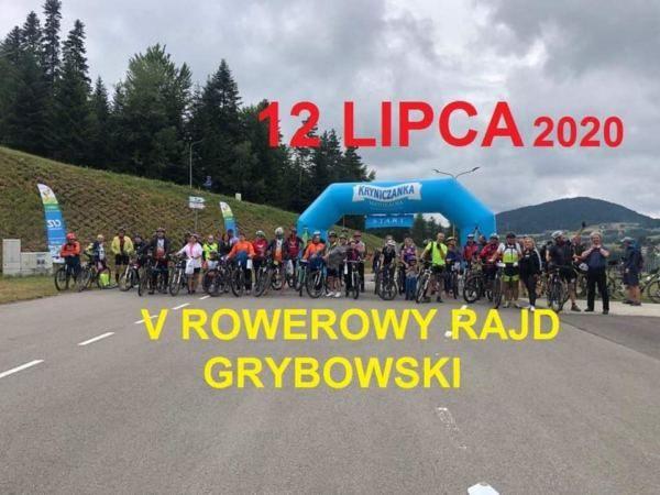 V Rowerowy Rajd Grybowski